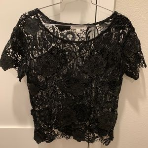 Piperlime floral lace top